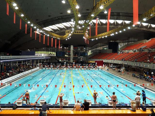 Piscine olympique de montr al olympic pool explore - Piscine olympique quetigny ...