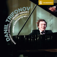 Tchaikovsky's Piano Concerto No. 1 and works for solo piano performed by Daniil Trifonov on the Mariinsky Label (SACD)