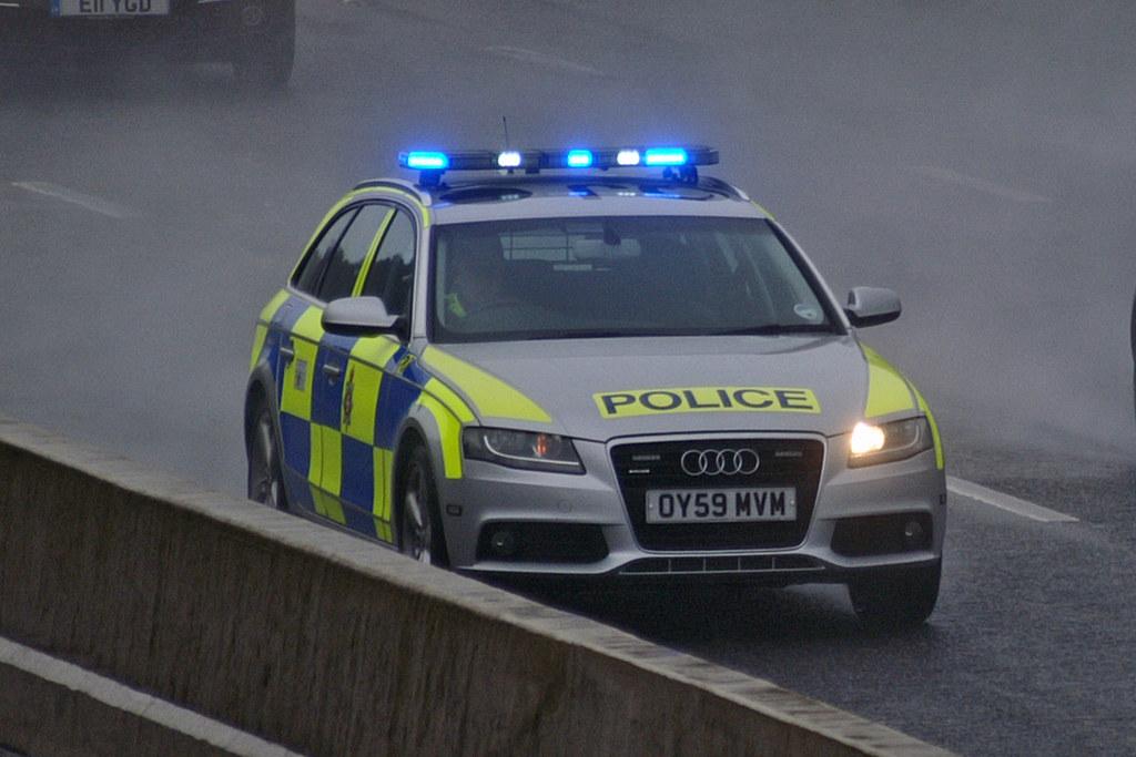 Wiltshire Police Oy59 Mvm Wiltshire Police Audi A4