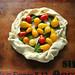 Cherry Tomato amd Ricotta Crostata