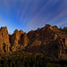 Night at Smith Rock, Oregon