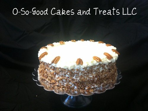 O-So-Good Carrot Cake | by O-So-Good Cakes and Treats LLC