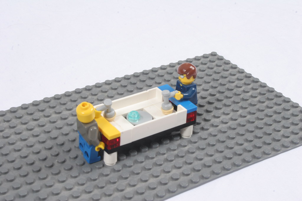 Lego Air Hockey | A Lego Air Hockey table built for my ...