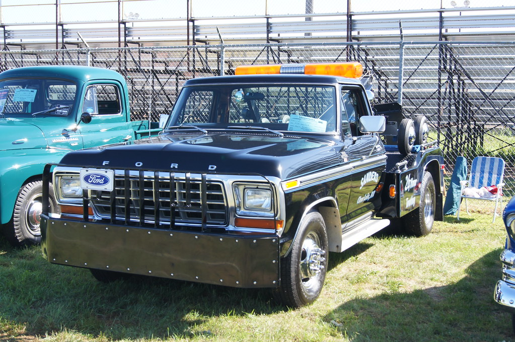 St J Auto >> 79 Ford Ranger XLT F-350 Tow Truck | St. Cloud Antique Auto … | Flickr