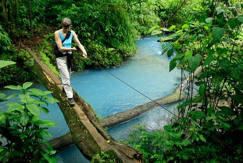 Rio Celeste Hiking In Costa Rica Costa Rica Experts Flickr