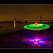 UFO Spottet in Rees (SOOC ! ) Lightpainting