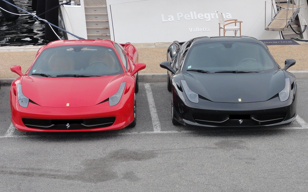 Red Amp Black Ferrari 458 Spider Which One Would You Pick