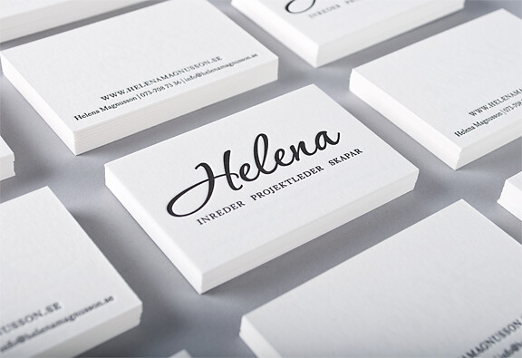 Business card for swedish Interior designer | Flickr - Photo Sharing!
