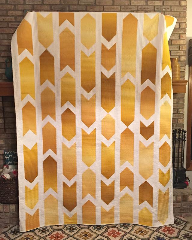 Straight & Arrow quilt