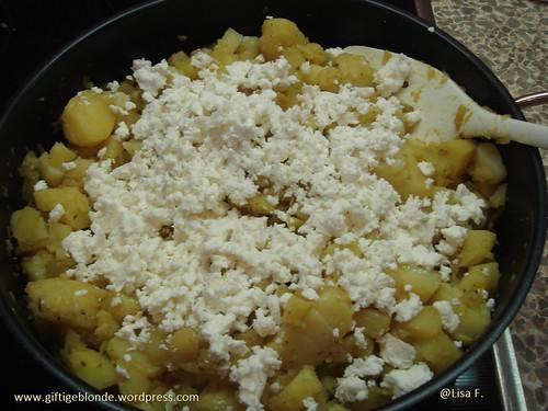 Kartoffel Zucchini Feta Pfanne2