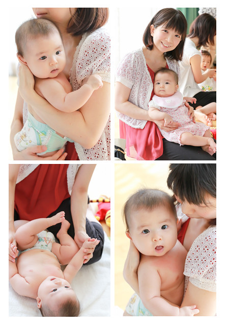 ベビーマッサージ nap nap 親子撮影会 赤ちゃん写真 ベビーフォト おむつ写真 愛知県瀬戸市