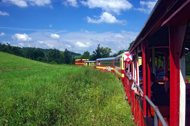 Narrow guage railway