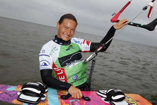 Kristin Boese (GER) | by Kitesurf World Cup St. Peter Ording