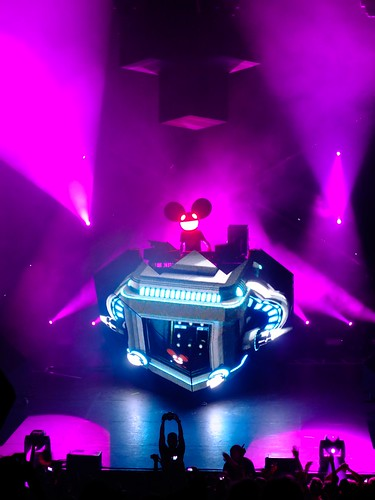 Concert Deadmau5 - 04 | by Teckytony