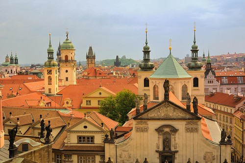 Prague : Roofs and bell-towers - 2/4 | by Pantchoa