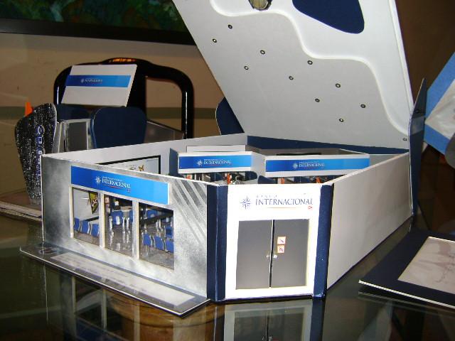 Maqueta banco internacional vista panor mica liz for Banco internacional