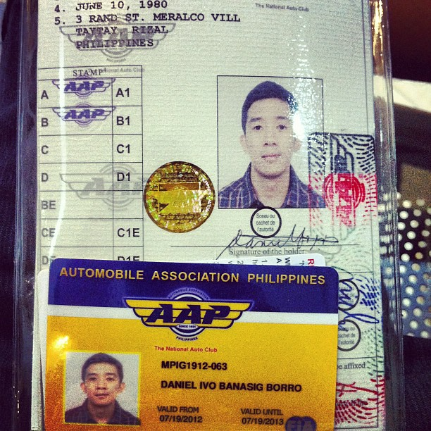 how to get international driver license in the philippines
