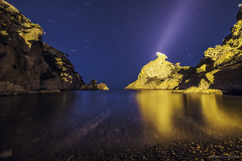 Calanque de Figuerolles by night | by Laurent VALENCIA
