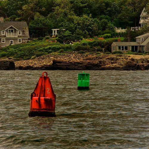 Josias River - Entrance to Perkins Cove | by Timothy Valentine