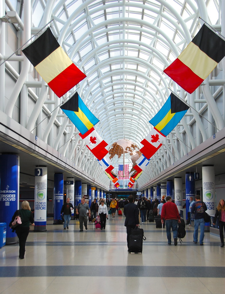 Hall Of Flags Terminal 3 Chicago O Hare International
