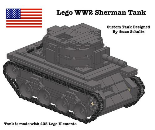 lego tank instructions free