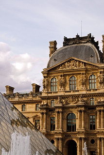 Louvre Pyramid and Fountain | by nydavid1234