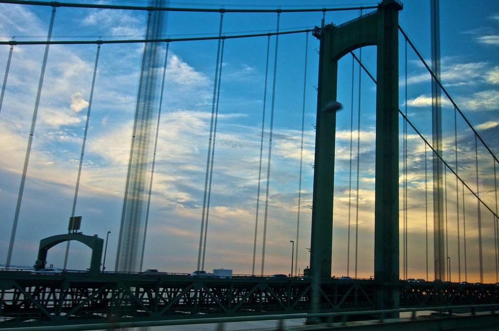 Delaware Memorial Bridge  Leaving New Jersey  Randy