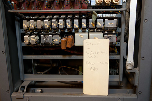 IBM 83 card sorter, service note | by hudson