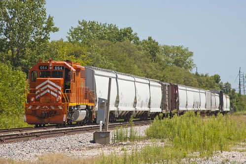 EJ&E 664 - Freeport Sub - Broadview, IL | by themats1