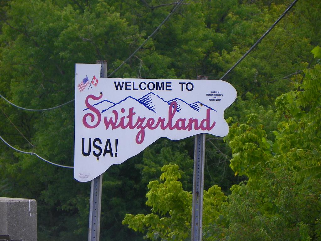 Welcome To Switzerland Usa Entering Switzerland County