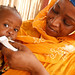"""""""I challenge anyone not to be moved"""". A woman feeds ready-to-use therapeutic food to her malnourished daughter in Niger"""