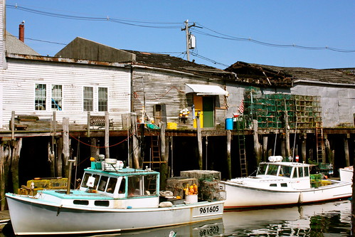 Lobster Boats in Portland. Maine | by Squirrel city photo