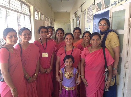 ASHA Workers with a Team Member | by Trinity Care Foundation | CSR Initiatives in India