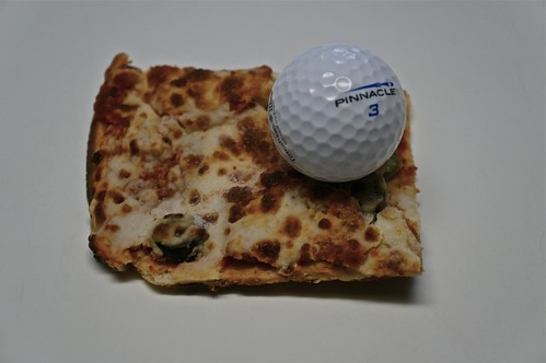 Golf Ball on Pizza | by ricko