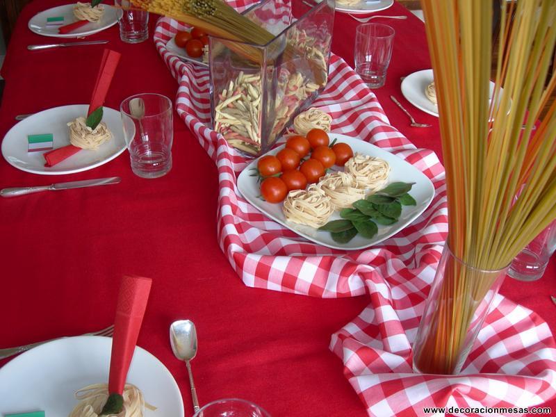 Decoracion mesa italiana 4 decoracionmesas flickr for Decoracion italiana