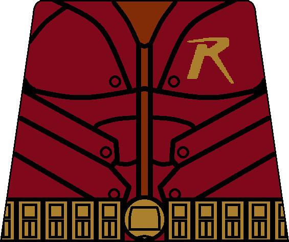 Arkham City Robin Torso   A custom lego torso decal of ...