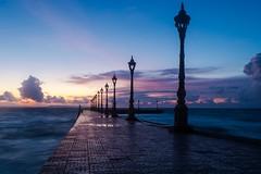 Victory Beach at dusk by Kuba Abramowicz
