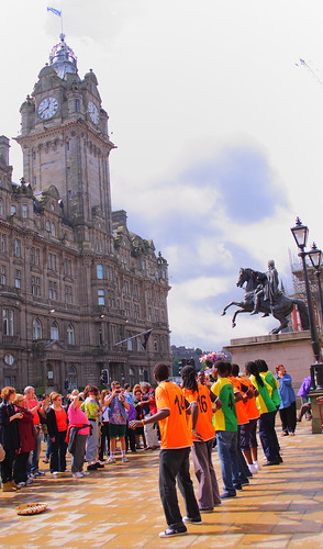 Zambezi Express performing in Princes Street | by Jay Tilston