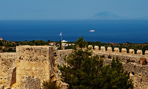 SUMMERTIME 2012, CHLEMOUTSI CASTLE, PELOPONNESE, S.GREECE #6757A | by Thanassis Fournarakos-6.5 million views