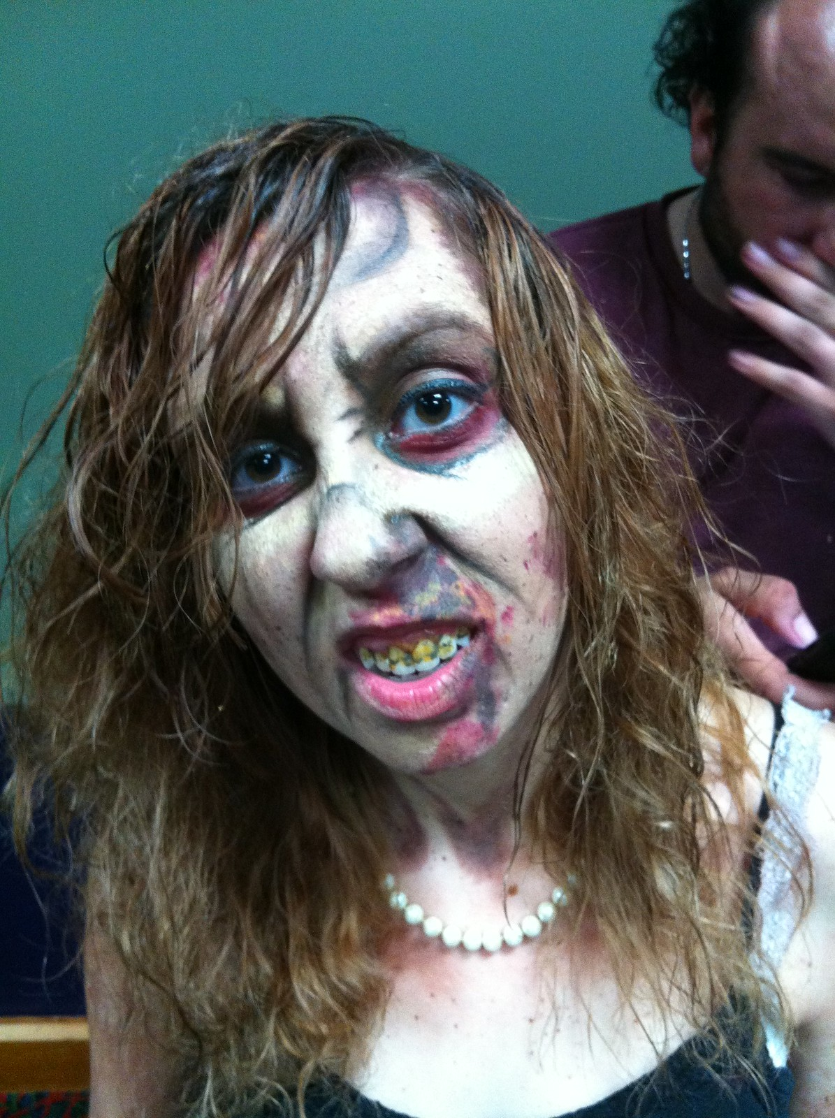 Zombie Makeup i Did