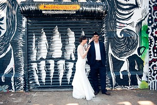 Lacey + Jorge, 5 Pointz Graffiti Park NYC | by Onada Photography