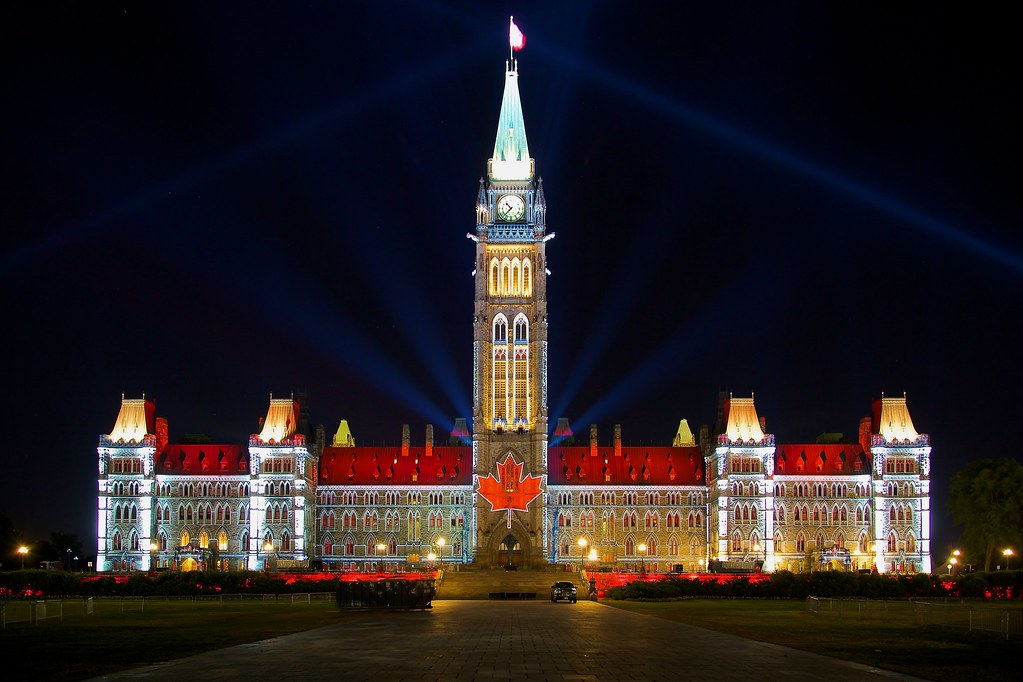 Mosaika Display Centre Block Parliament Hill O Canada