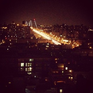 Williamsburg bridge from 20 floors up | by jessicajessicaj