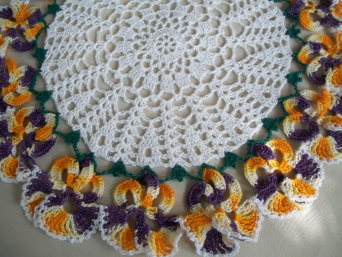 Pansy Doily | by Acadian Crochet