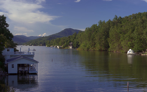 Lake Lure Evening | by oldoinyo
