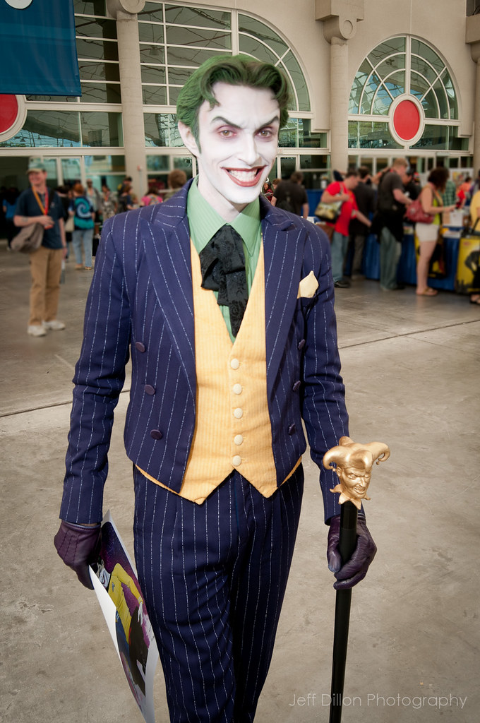 San Diego Comic Con 2012 Joker From The Floor At The