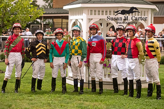 Jockey Lineup | by smcarterphotos
