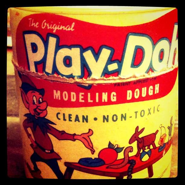 Super Rare Original Quot Play Doh Quot Can Using The Word Quot Dough