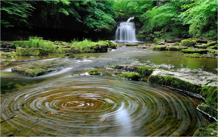 Cauldron Falls West Burton Yorkshire Dales Best Viewed