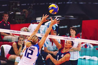 london 2012: GB vs Italy Women's Volleyball | by Courts ツ